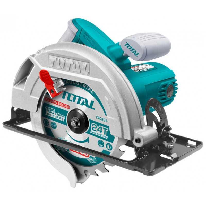 "Sierra Circular 185mm (7 ¼"") 1400W Total Tools TS11418526"