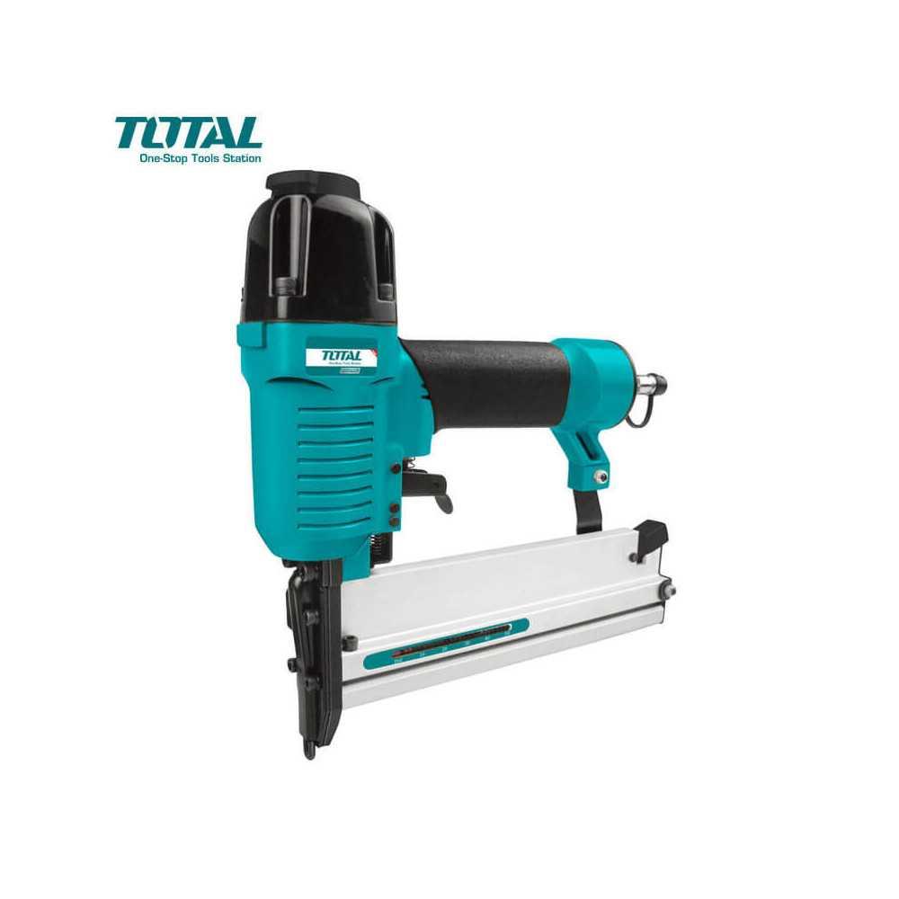Corchetera Clavadora Neumática 2 en 1 Total Tools TAT81501