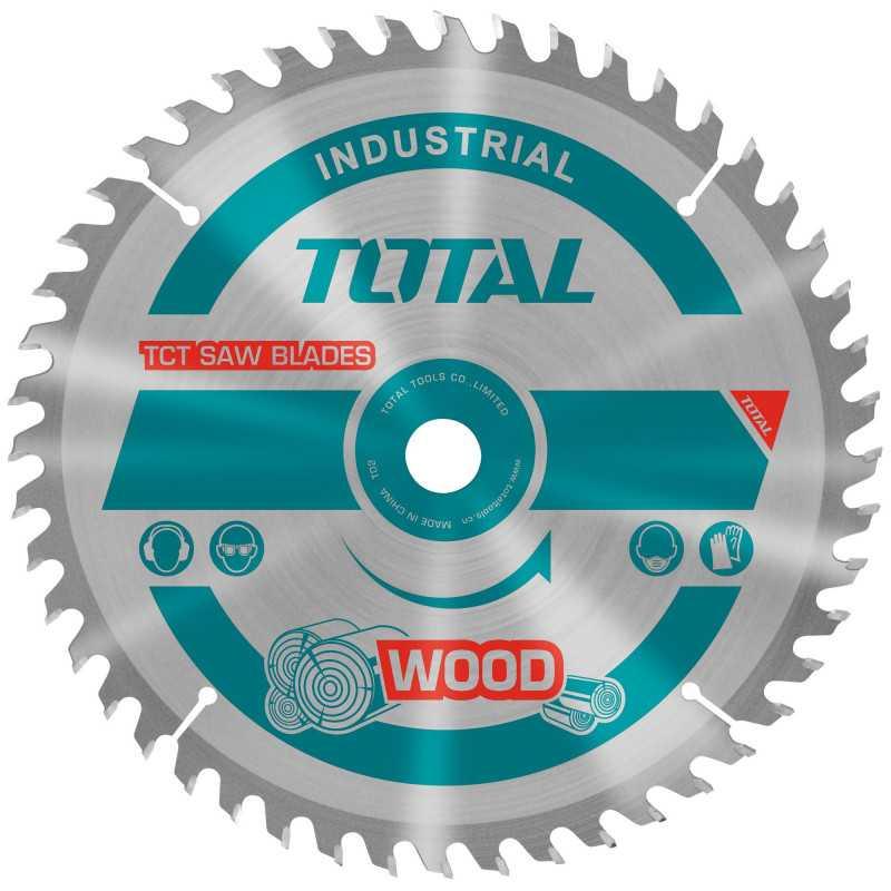"Disco Sierra Madera 10"" x 40 Dientes Eje 30mm Total Tools TAC231725"