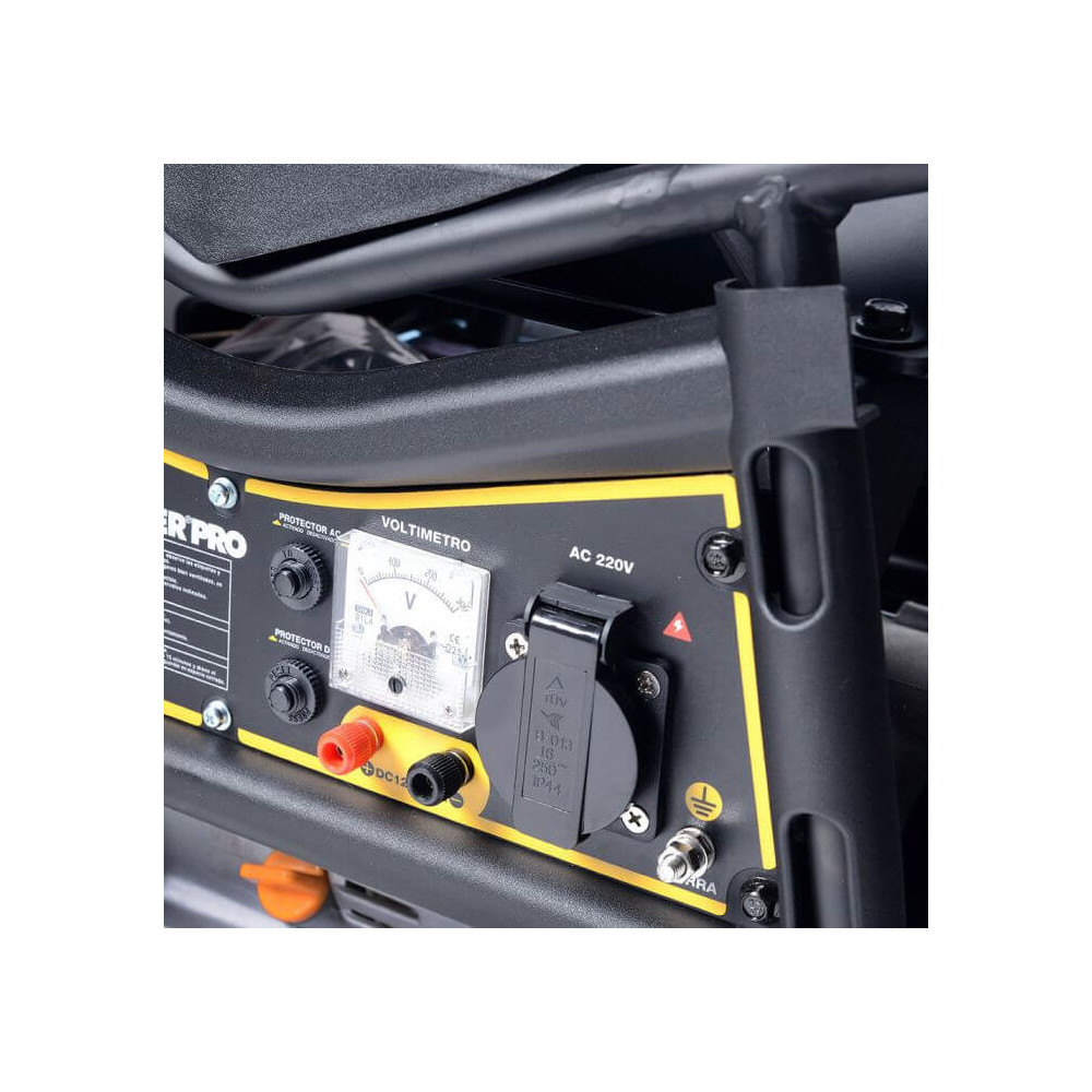 Generador Eléctrico Gasolina 1.1kVA GE1100-V Power Pro 101011060