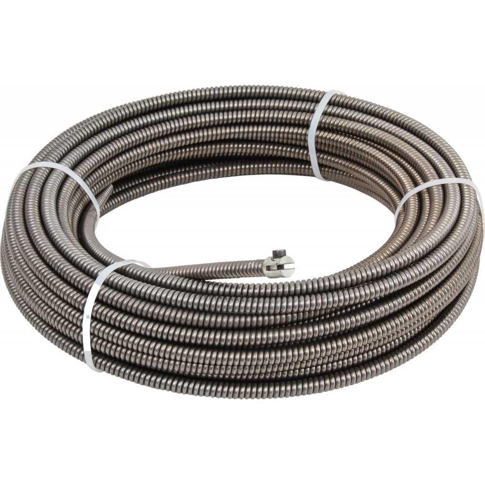 Cable Acerado para Destapador de Desagüe PDC330Z 12.7MMx15MTS Power Pro 103011470