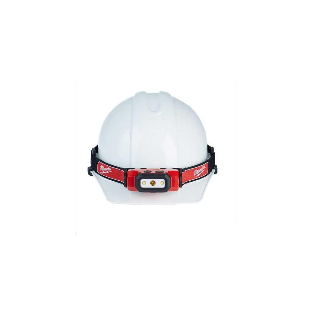 Linterna Frontal De Casco Recargable Con Puerto USB Milwaukee 2111-21