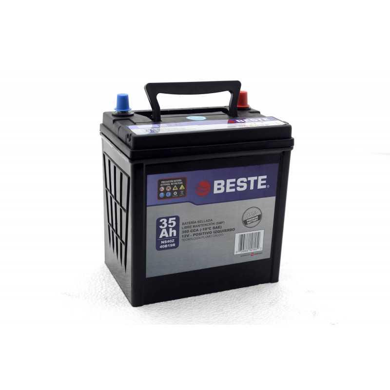 Batería de Auto 35Ah Positivo izquierdo Beste 39NS40ZGB