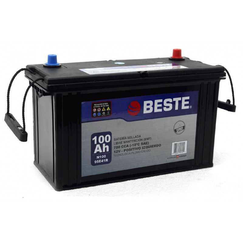 Batería de Auto 100Ah Positivo izquierdo Beste 39N100GB