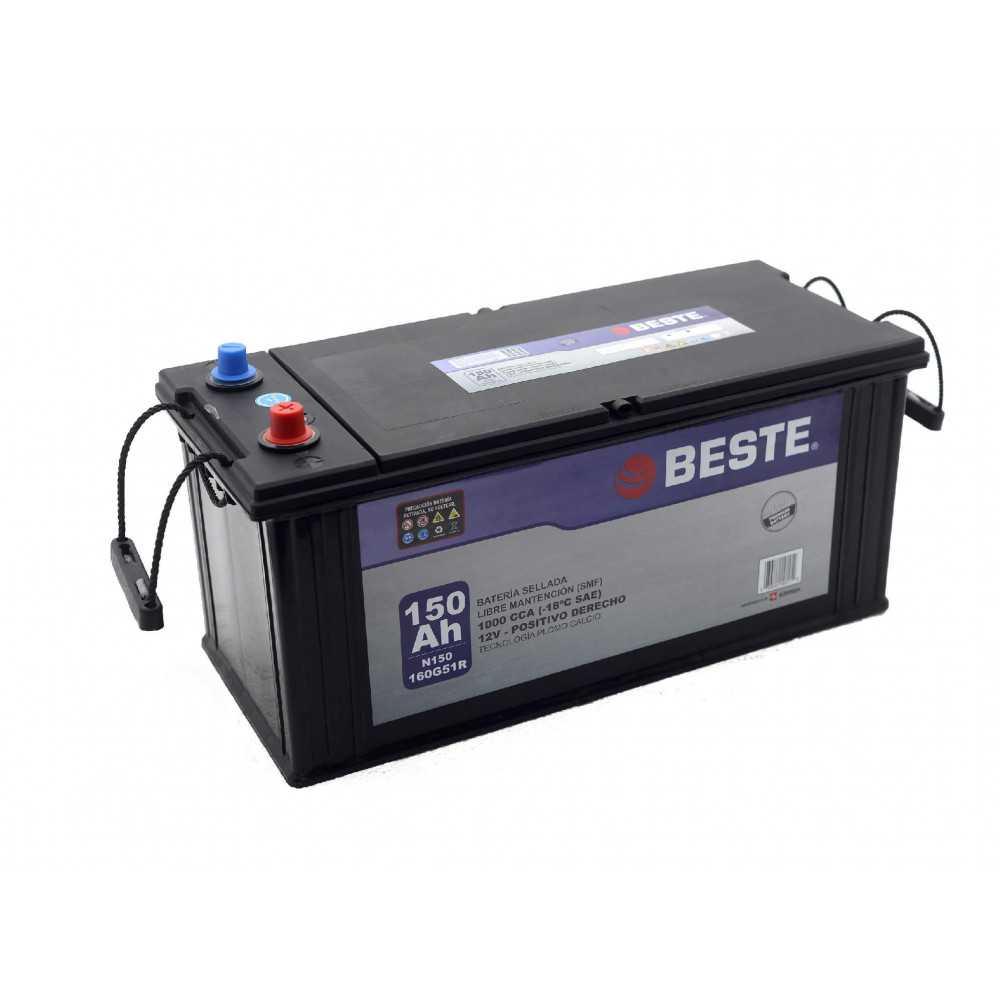 Batería de Auto 150Ah Positivo derecho Beste 39N150GB