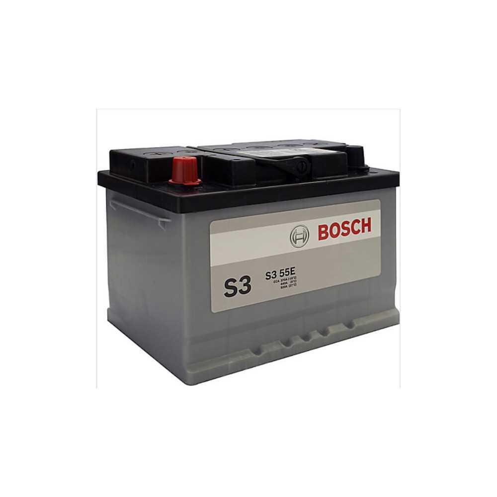 Batería de Auto 55Ah Positivo Izquierdo Bosch 39S355E