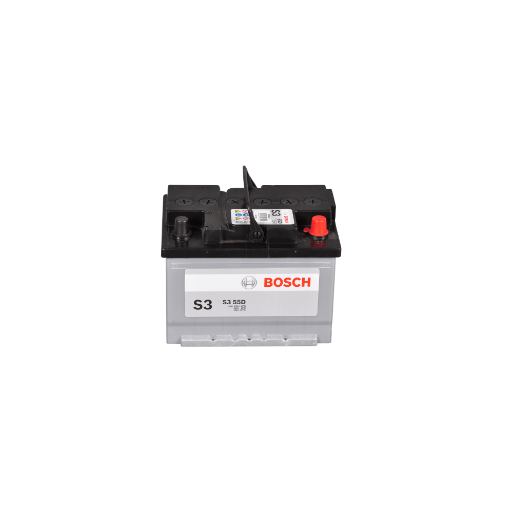 Batería de Auto 55Ah Positivo Derecho Bosch 39S355D
