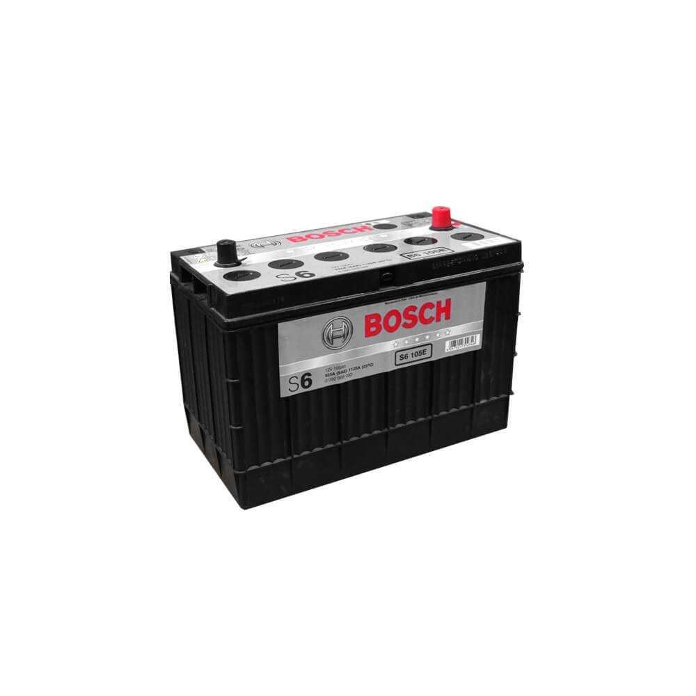 Batería de Auto 105Ah Positivo Izquierdo Bosch 39S6105S-E