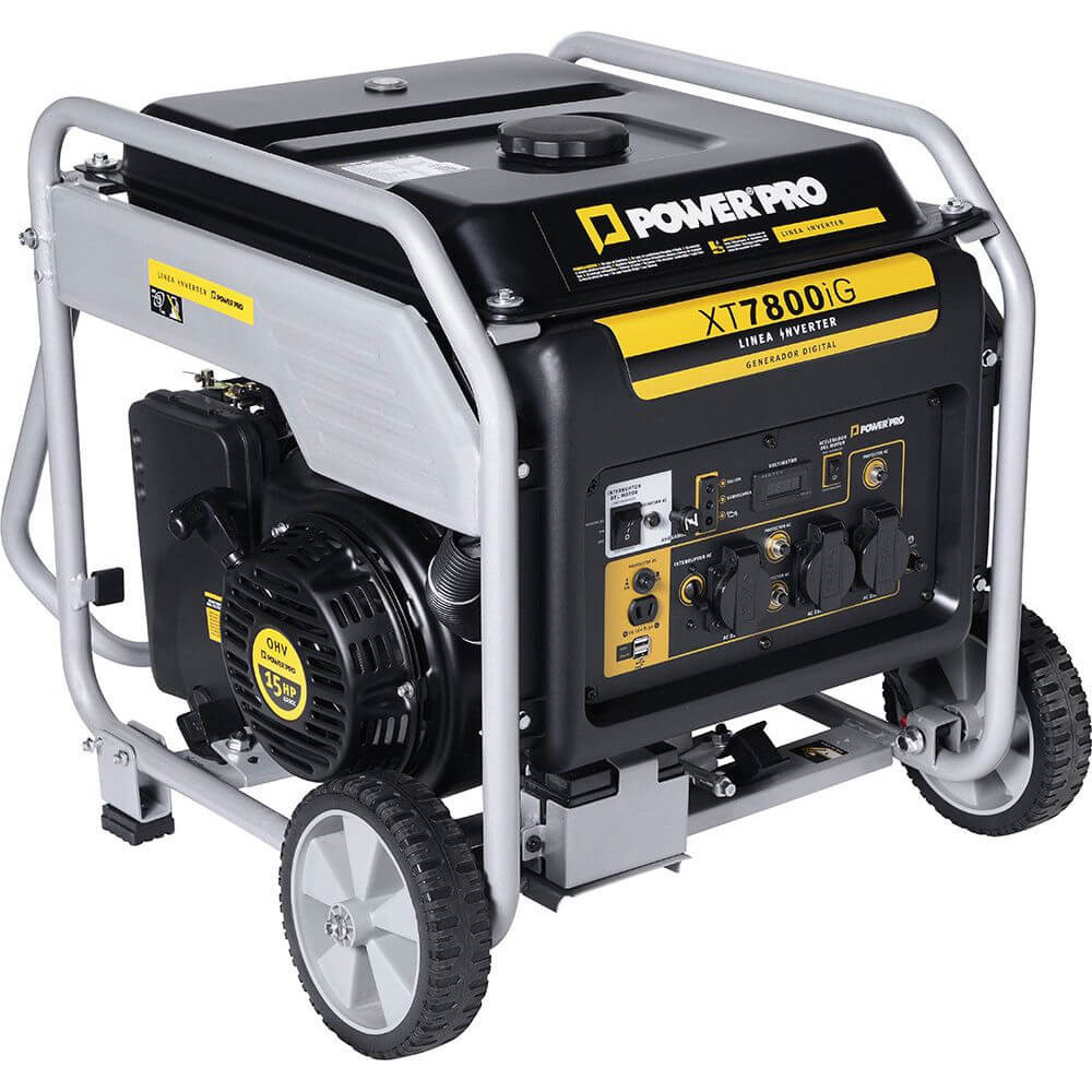 Generador Eléctrico digital inverter gasolina 7kw XT 7800 IG Power Pro 103010933