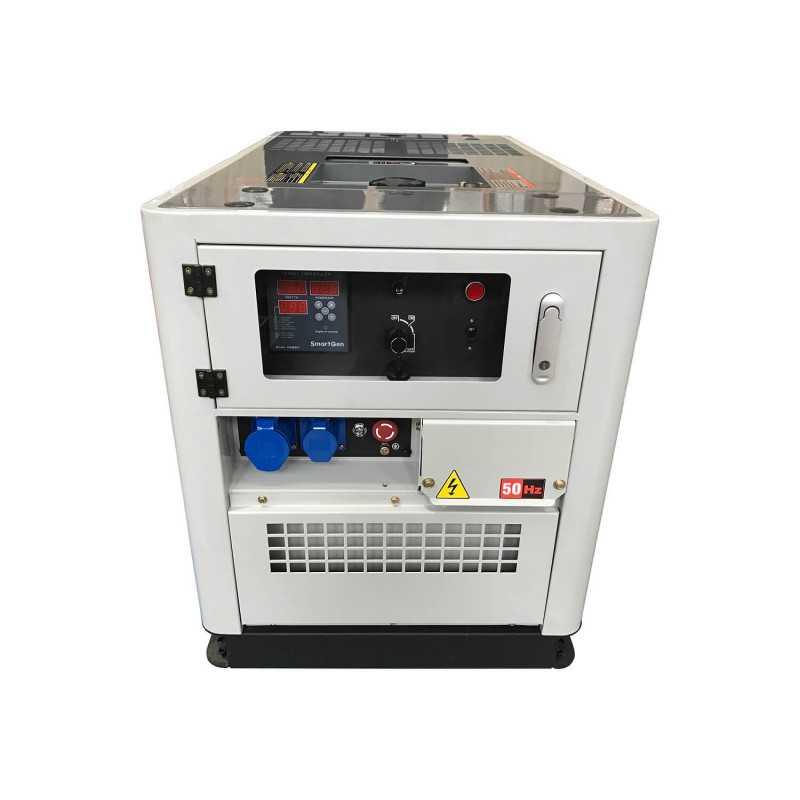 Generador Eléctrico Diésel 9.5 KVA ATS Incorporado Monofásico Toyama TDWG12000SGE