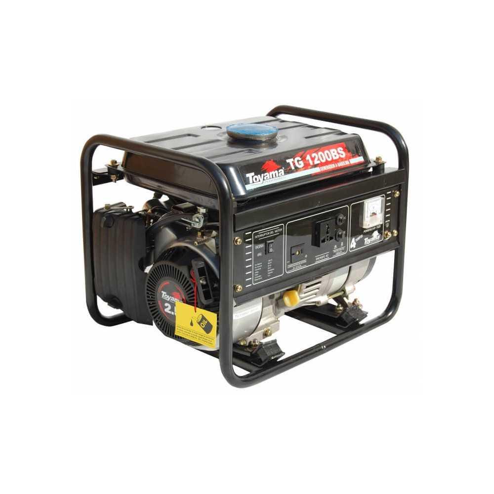 Generador Eléctrico Gasolina Partida Manual 1200 W Motor 2.4 HP Toyama TG1200BSJ