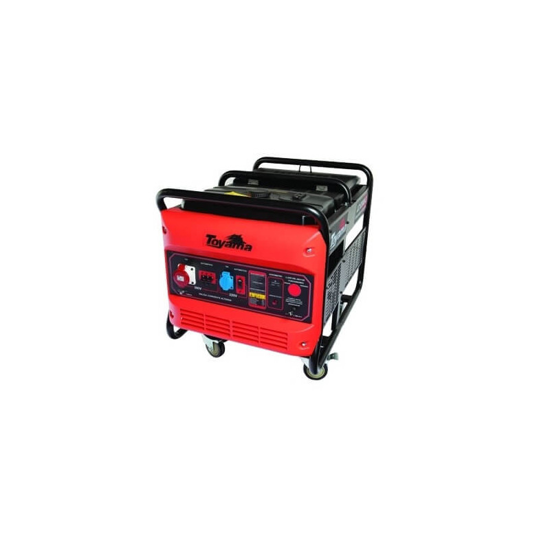 Generador Eléctrico Gasolina Partida Eléctrica 9500 W Motor 20 HP con Batería Toyama TG12000CXE1J-A