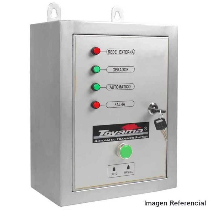 ATS - Tablero de Transferencia 63A Trifásico para Generador Diésel TD40 Toyama ATS-40