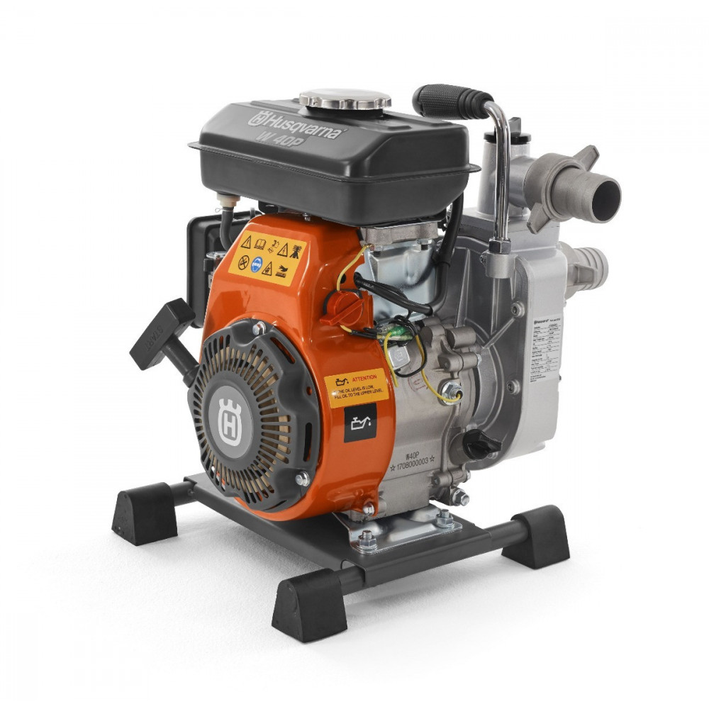 "Motobomba 1.5""x1.5"" a Gasolina W40P Husqvarna 967 6389-02"