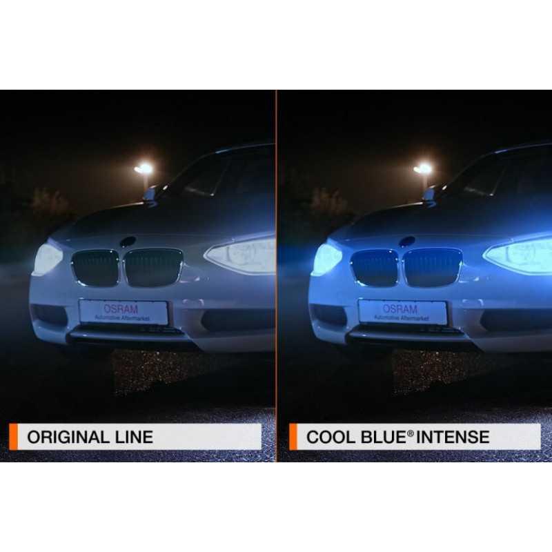 Ampolleta para Automóvil Foco Mayor - Luces Bajas 12V y 55W H1 Cool Blue Intense Osram 5764150CBI