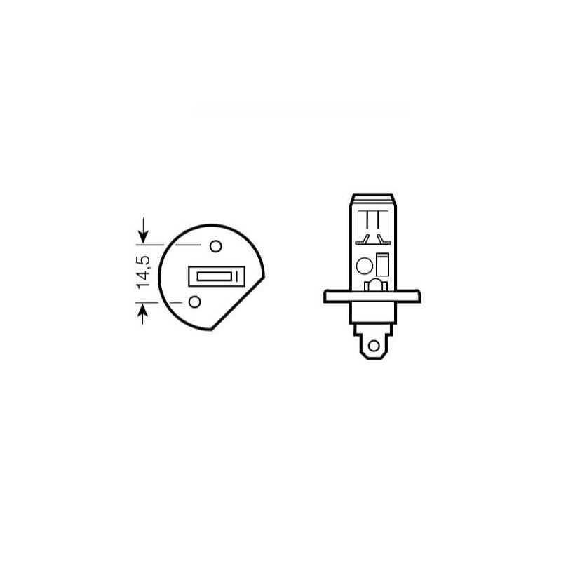 Ampolleta para Automóvil Foco Mayor - Luces Bajas 24V 70W H1 Estándar Bosch 110986AL1504