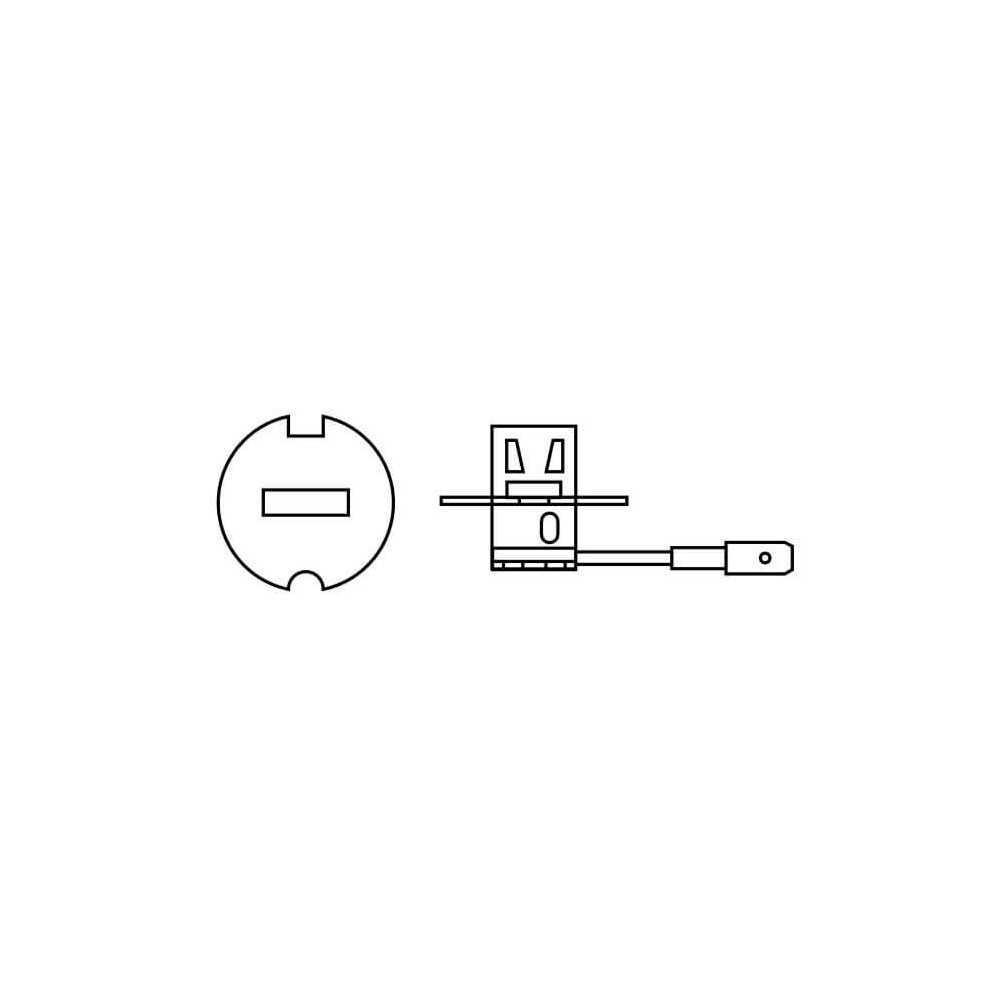 Ampolleta para Automóvil Luz antiniebla 24V 70W H3 Estándar Bosch 110986AL1510