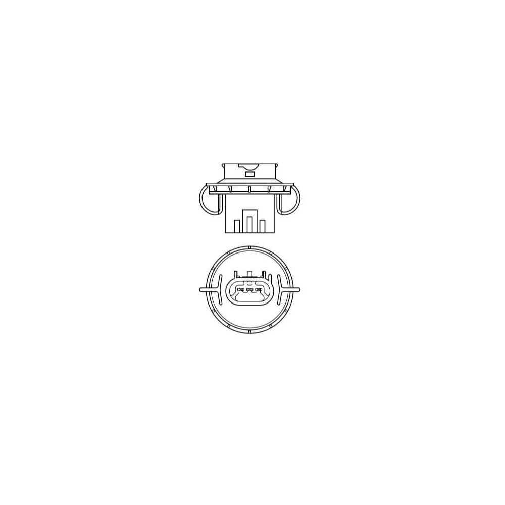 Ampolleta para Automóvil Foco Mayor - Luces bajas/altas 12V 60/55W H13 Estándar Osram 579008