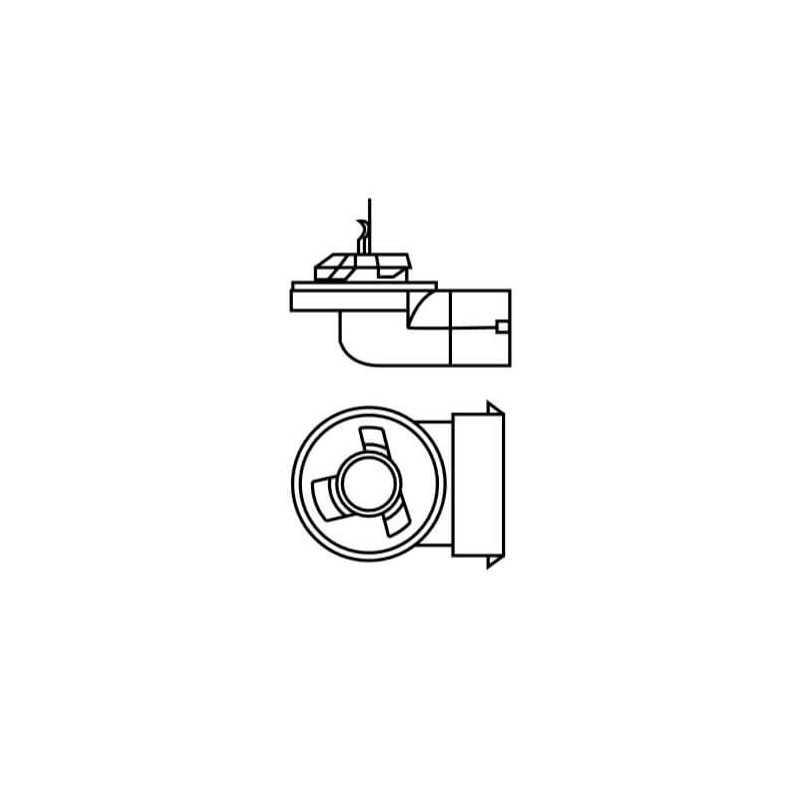 Ampolleta - Luz antiniebla para Automóvil 12V 32W 881 Estándar Osram 57881