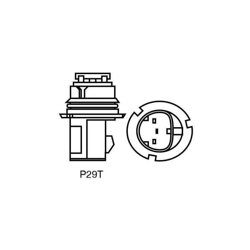 Ampolleta para Automóvil Foco Mayor 12V 65/45W 9004 Estándar Bosch 110986BL0424