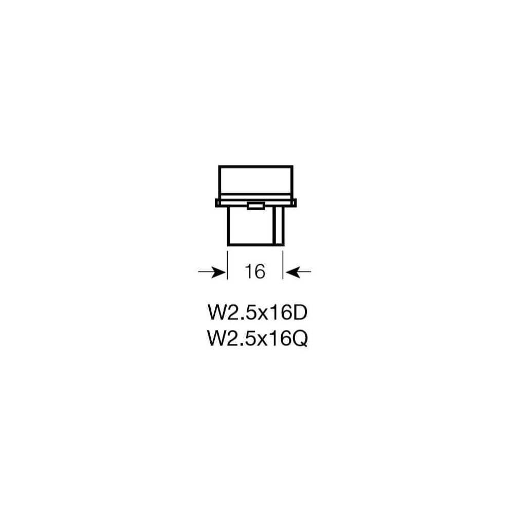 Ampolleta de Señalización para Automóvil 12V 27W P27W Estándar Osram 573156