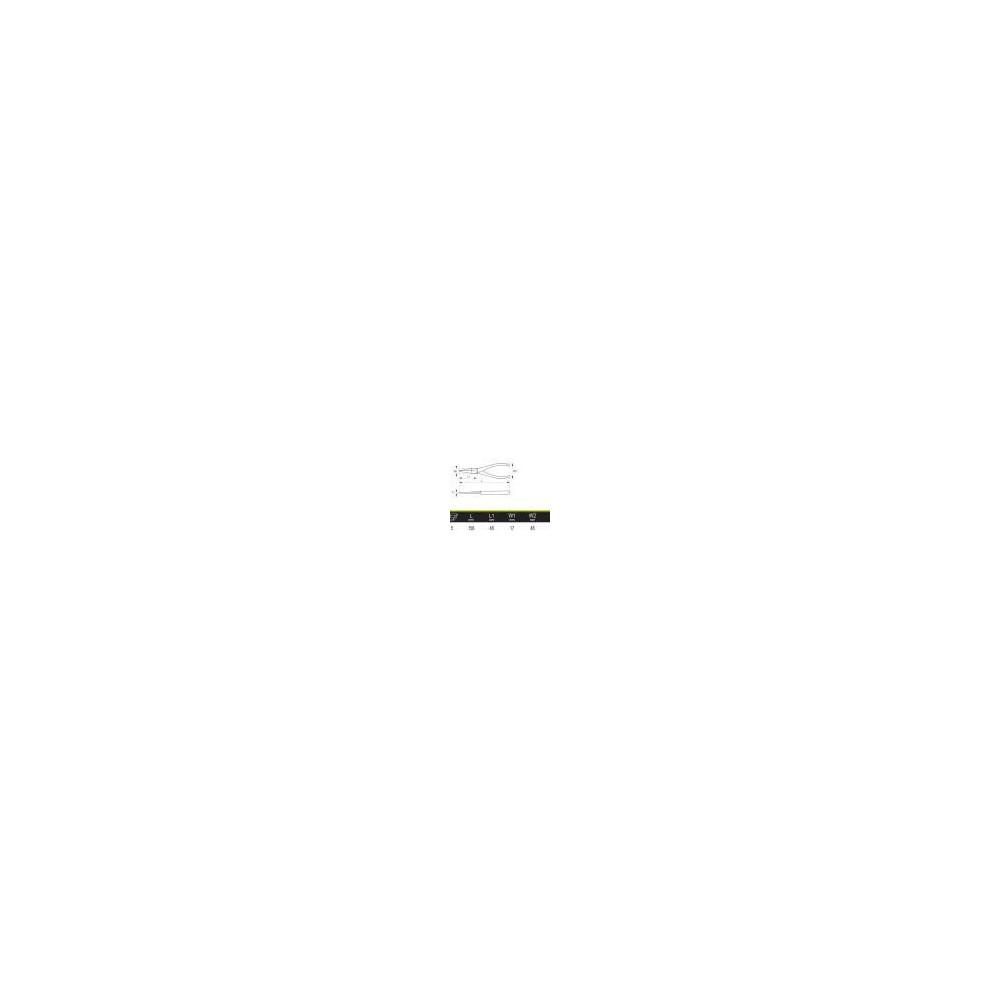 """Alicate Boca Plana 6"""" (160mm) Irimo 604-160-1"""