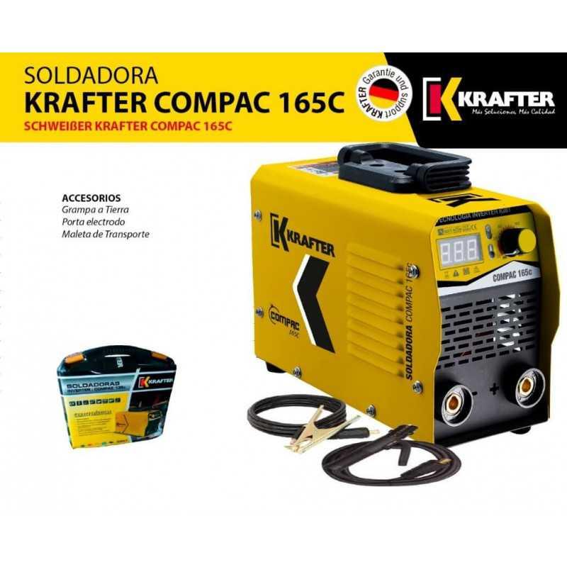 Soldadora Inverter Compac 165C 160Amp. Krafter 4459100000165
