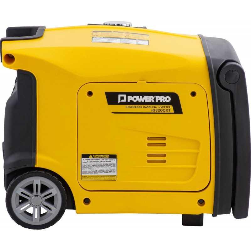 Generador Eléctrico Digital Inverter 3.2 KVA IG3200XT Power Pro 103011576