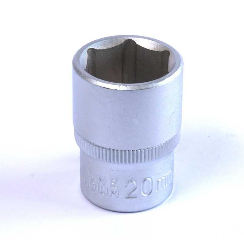 """Dado Hexagonal 20 MM Cuadrante 1/2"""" Endure DHE1220"""