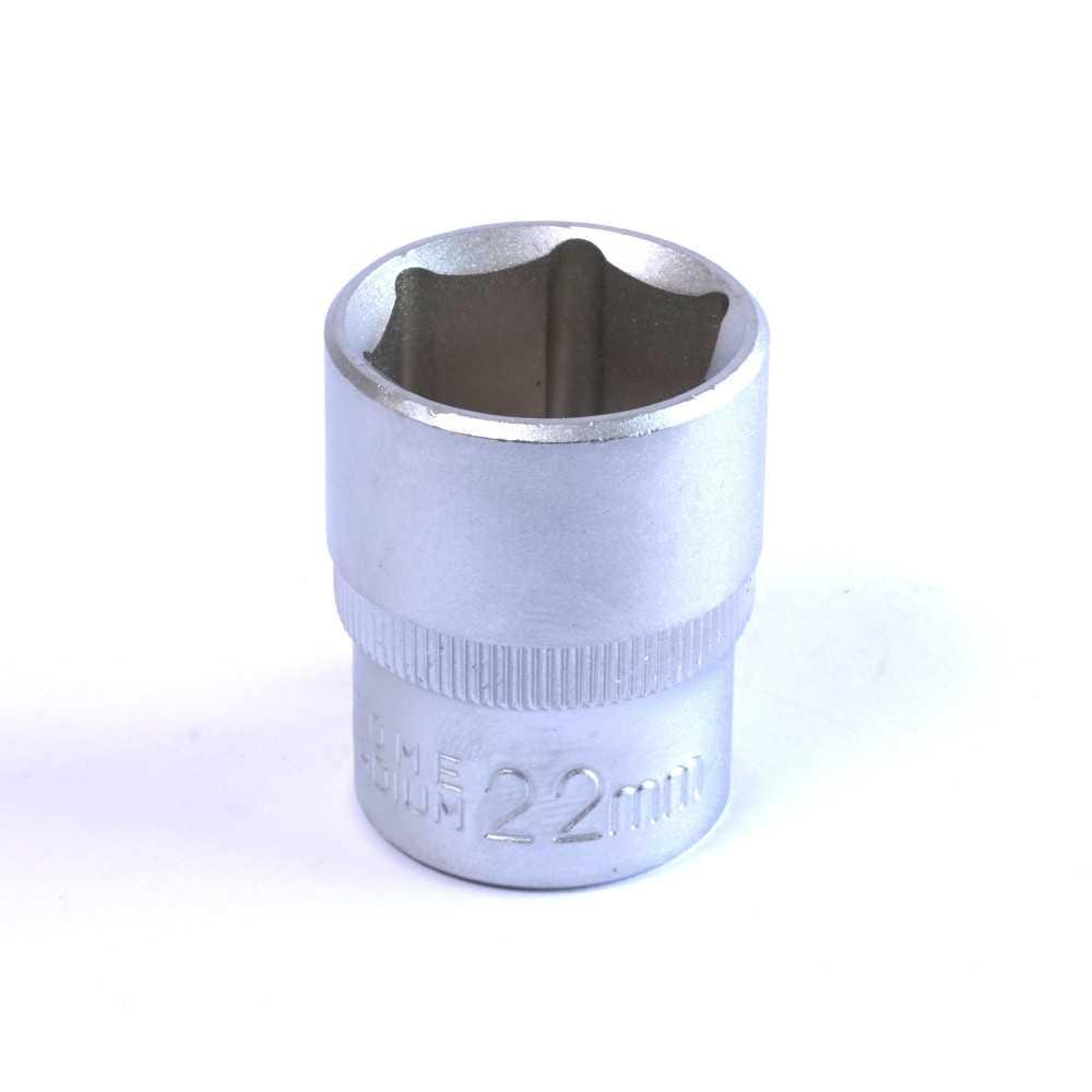 """Dado Hexagonal 22 MM Cuadrante 1/2"""" Endure DHE1222"""