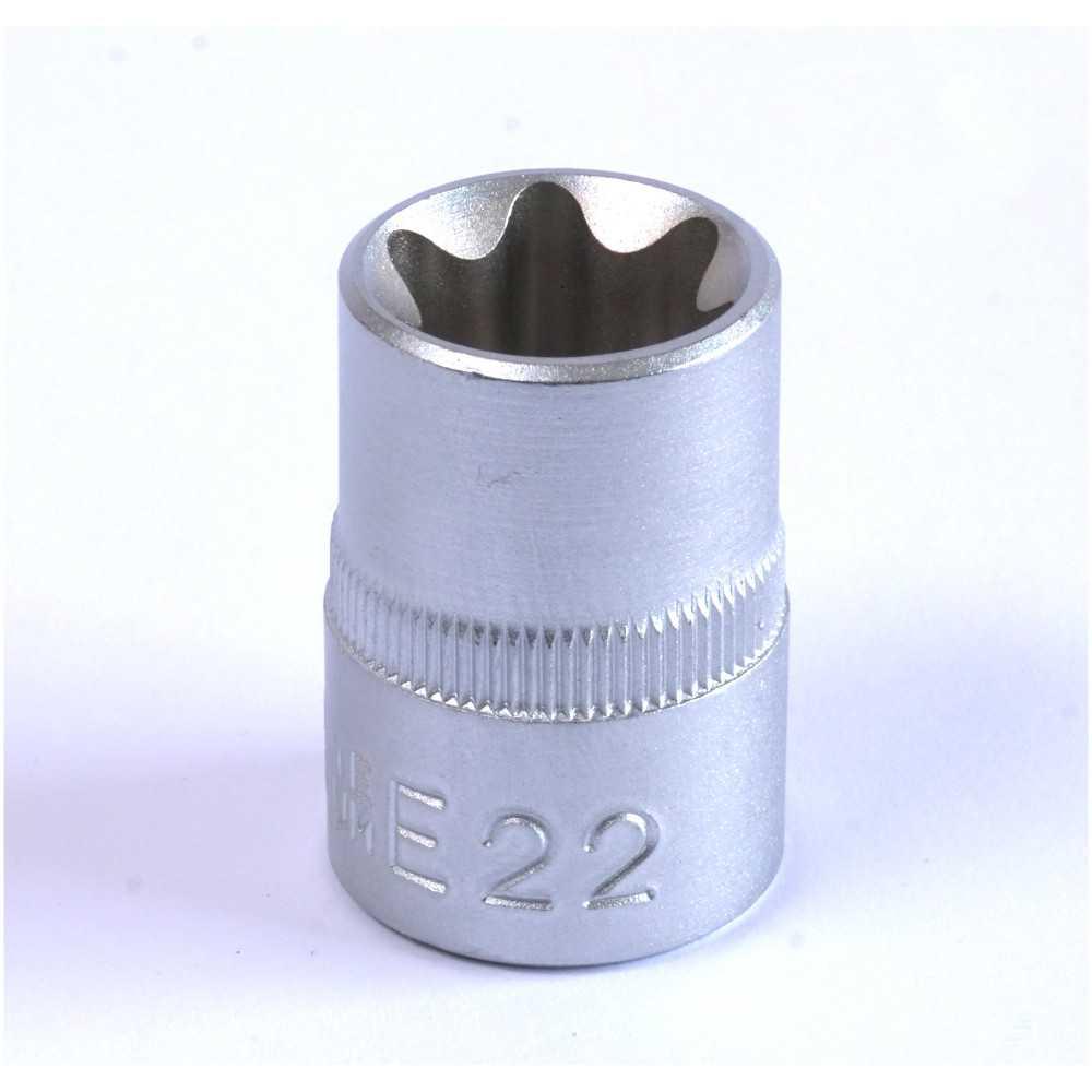 """Dado Torx Hembra E22 Cuadrante 1/2"""" Endure DTHE12E22"""