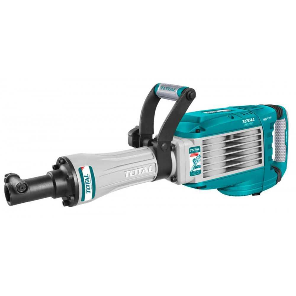 Martillo Demoledor 1700W 50J + 2 Cinceles Total Tools TH217506