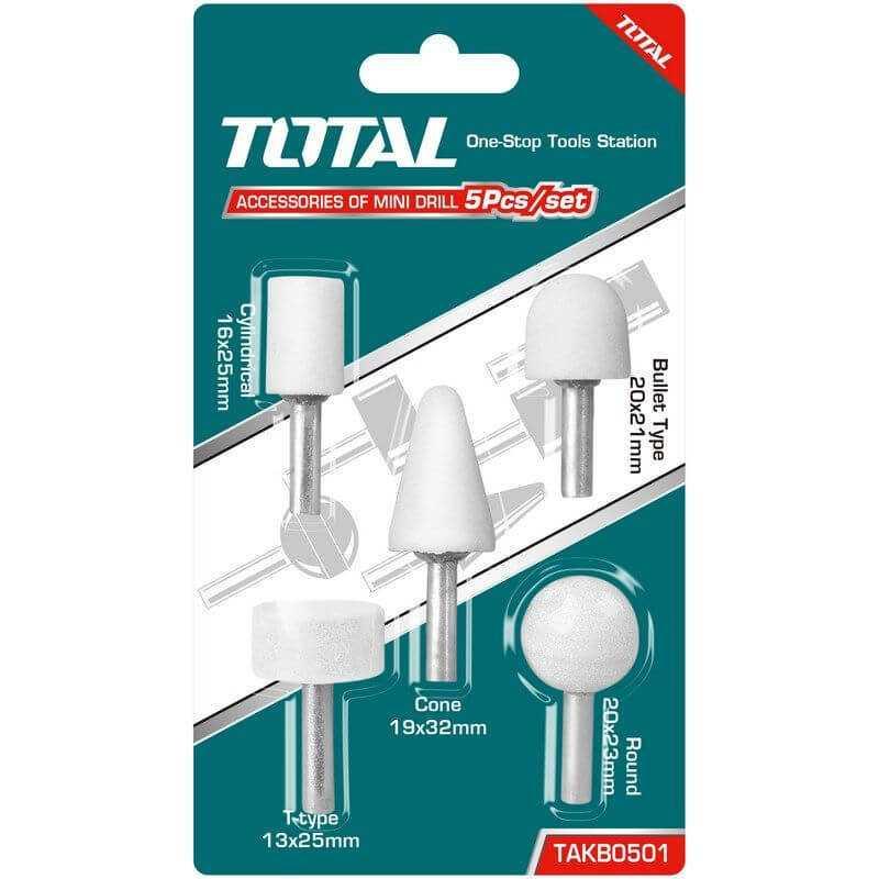 Set Fresas para Dremel Blister 5 Unidades Total Tools TAKB0501