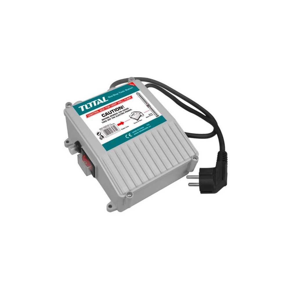 Control para Bomba de Agua Profundidad 8 Ah Total Tools TWP55501-SB