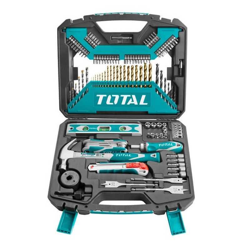 Set Brocas HSS 120 Unidades Total Tools THKTAC01120
