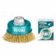 Grata Copa Bronce 100MM Total Tools TAC31041