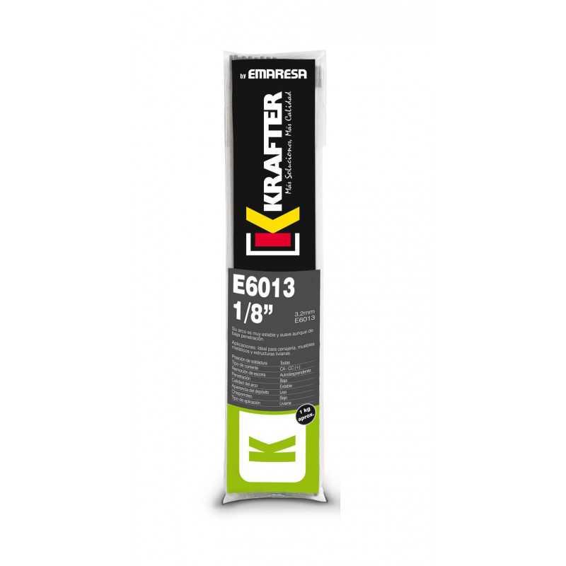 """Electrodo 3/32"""" (2.5mm) 1Kg E 6013 Krafter 4420000060132"""