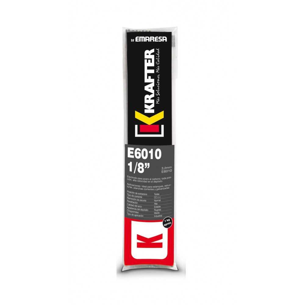 """Electrodo 5/32"""" (4.0mm) 1Kg E 6010 Krafter 4420000060104"""