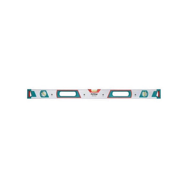 Nivel De Aluminio 3 Aguas Con Imán 120 CM Total Tools TMT21205M
