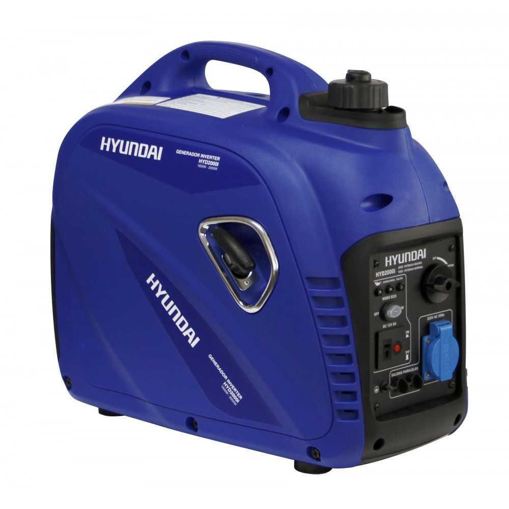 Generador Eléctrico Inverter digital a gasolina 2 kw Partida manual 82HYD2000I