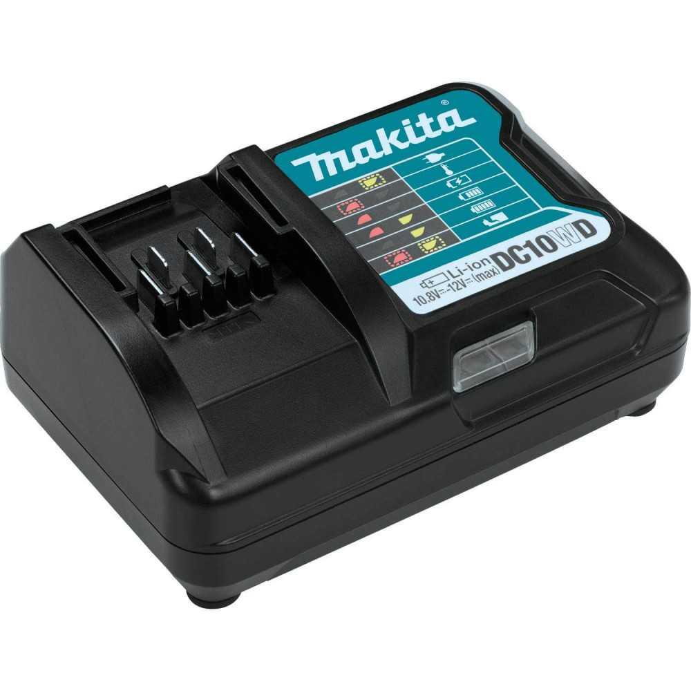 Cargador de Batería CXT® Litio‑Ion de 12V Makita DC10WD