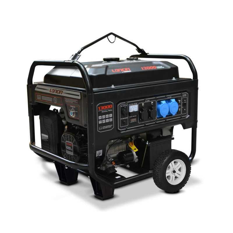 Generador Eléctrico a Gasolina Trifásico 10 Kw Motor 17.7 HP LC13002 Loncin 4407000013003