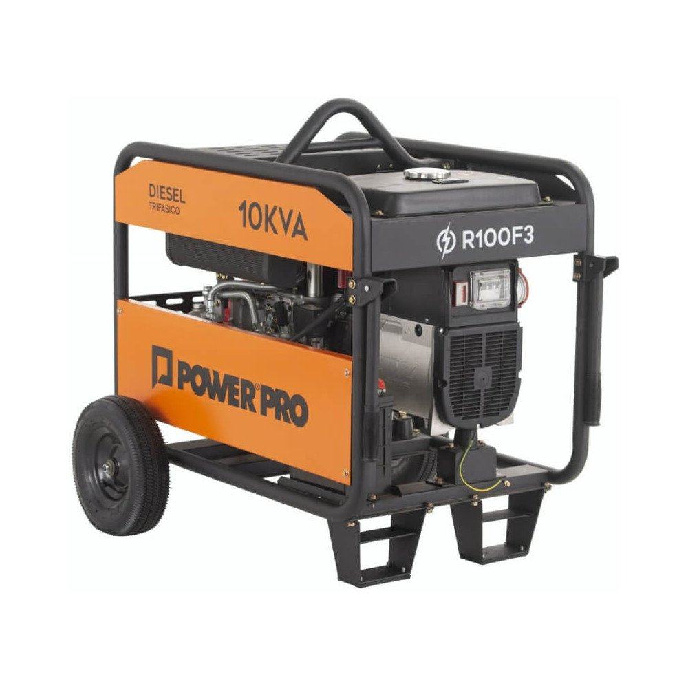 Generador Eléctrico Trifásico Diesel 10KVA R100F3 Power Pro 103011205
