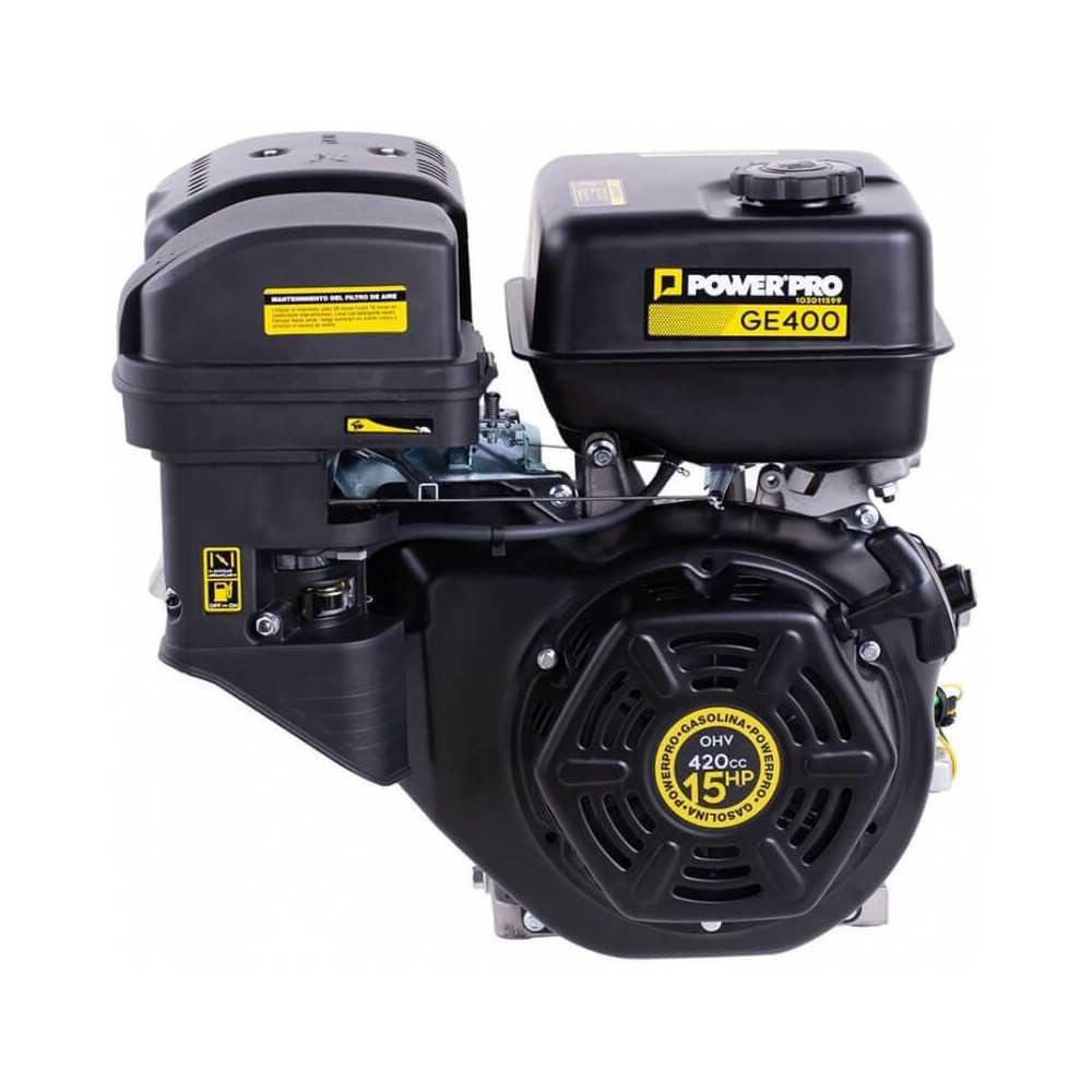 Motor Bencinero 12 hp Partida Manual GE400 Power Pro 103011599