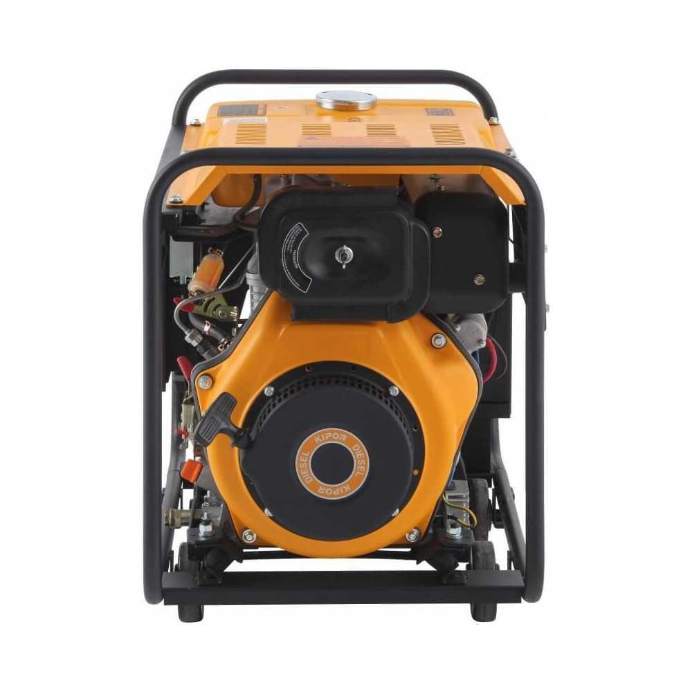 Generador Eléctrico Trifásico Diésel 5Kva KDE6500E3 Kipor 305010023
