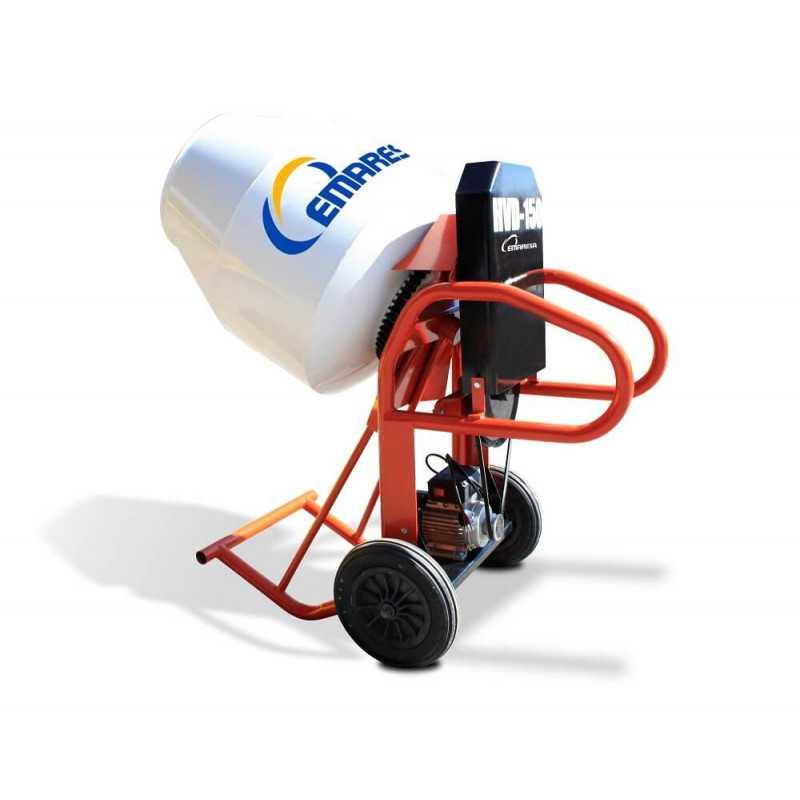 Betonera Volteo Directo Gasolina 5HP 150Lt HVD-150G-R Emaresa 1802000005150