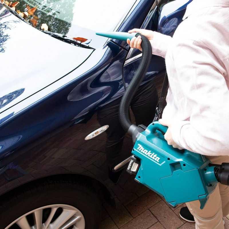 Aspiradora para Auto Inalambrica 12V CXT 500ml Sin Bateria ni Cargador Makita CL121DZ
