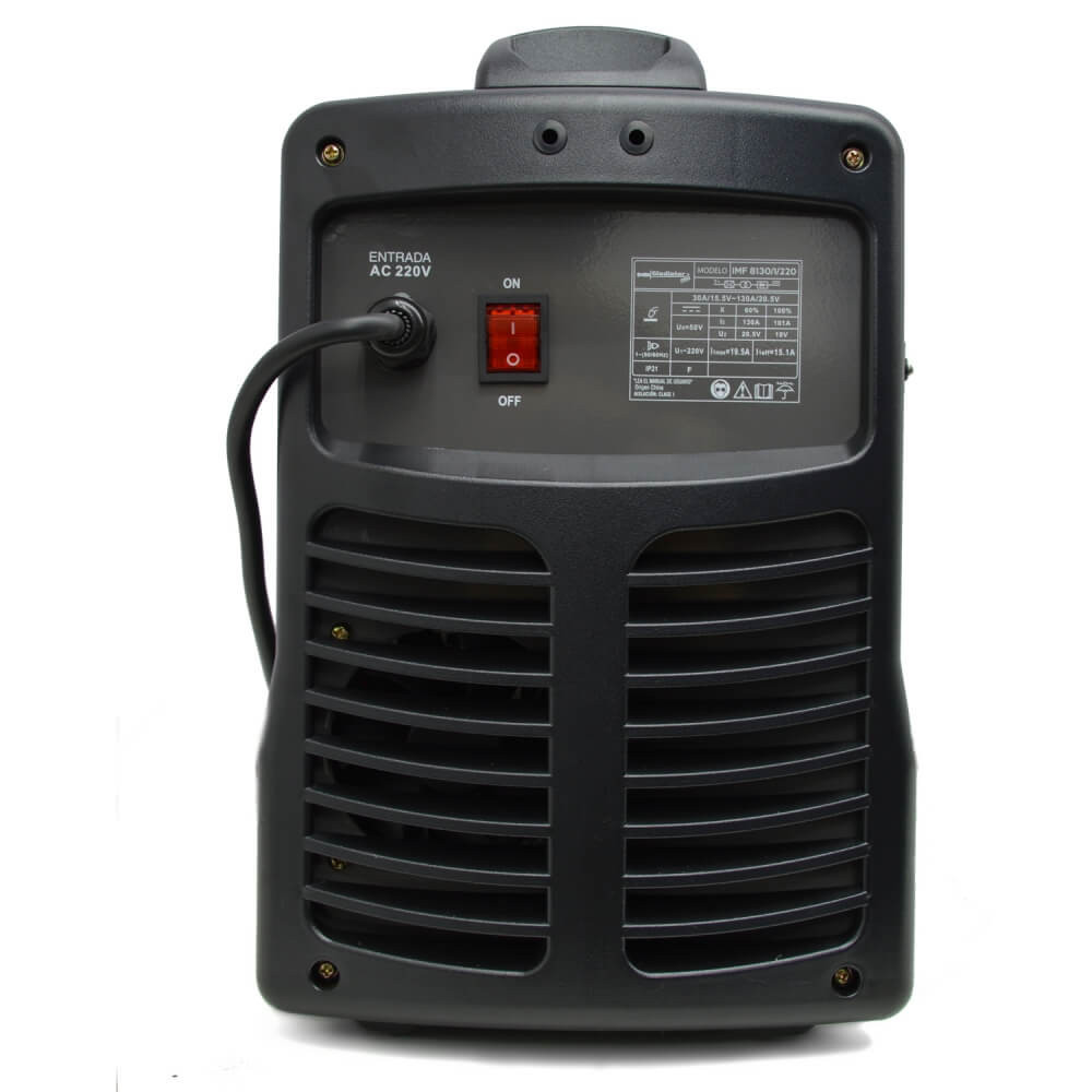 Soldadora Inverter MIG 130A GASLESS IMF 8130 Gladiator MI-GLA-052235