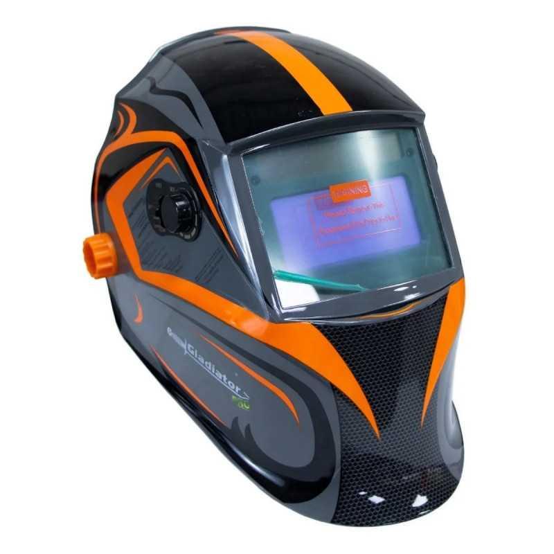 Máscara para soldar FOTOSENSIBLE C/LED MS8900L Gladiator MI-GLA-051732