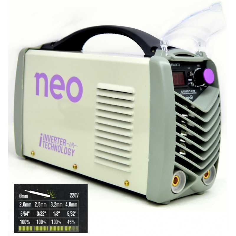 Soldadora INVERTER ARCO MANUAL 200 AMP IE 9200/1/220 Neo MI-NEO-053701